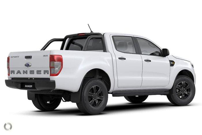 2021 Ford Ranger Sport PX MkIII MY21.25 4X4 Dual Range Arctic White