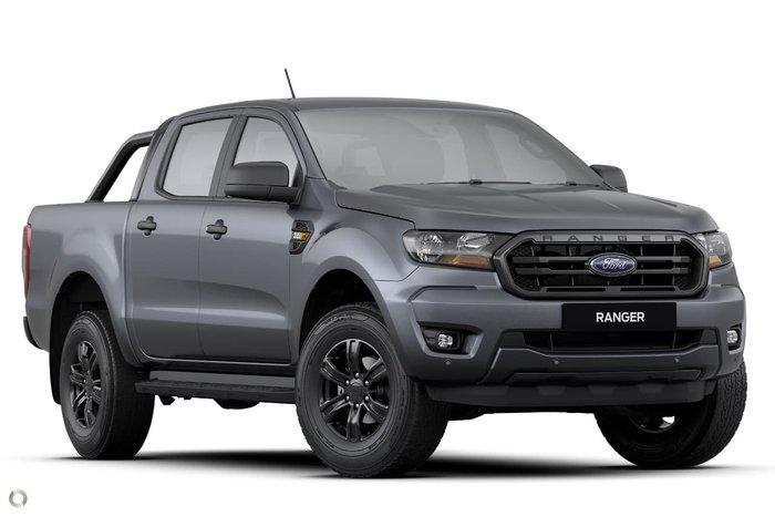 2021 Ford Ranger Sport PX MkIII MY21.25 4X4 Dual Range Grey