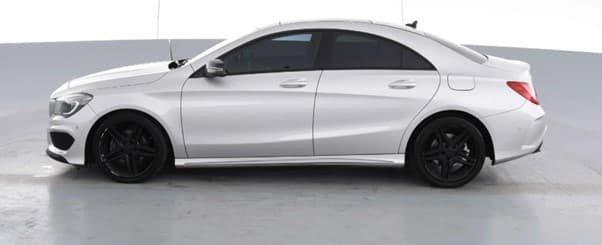 2016 Mercedes-Benz CLA-Class CLA200 C117 Polar Silver