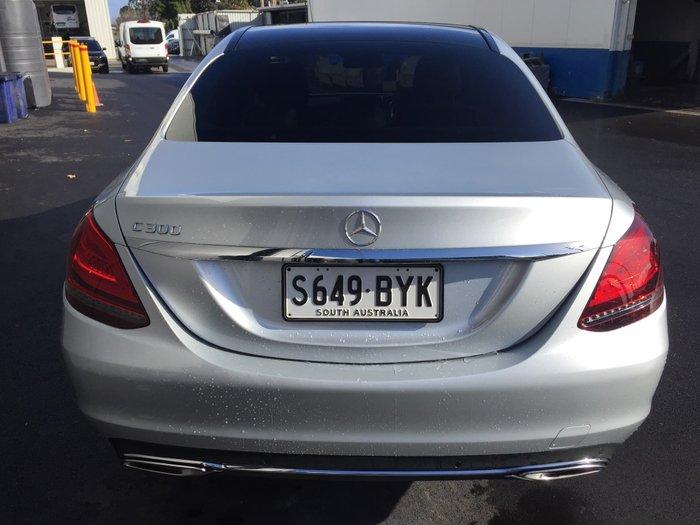 2018 Mercedes-Benz C-Class C300 W205 Iridium Silver