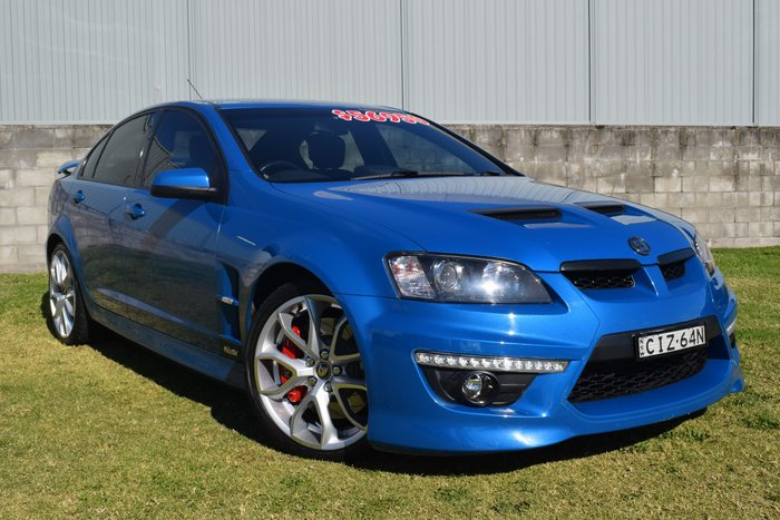 2012 Holden Special Vehicles Clubsport E Series 3 MY12.5 Blue