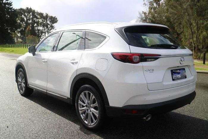 2021 Mazda CX-8 Asaki KG Series Snowflake White Pearl