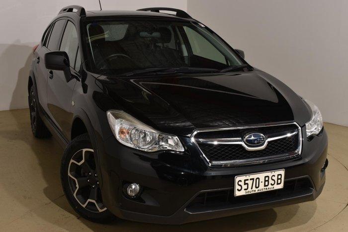 2012 Subaru XV 2.0i-L G4X MY12 AWD Obsidian Black Pearl