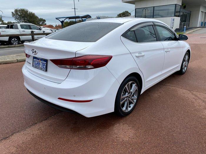 2017 Hyundai Elantra Elite AD MY18 Polar White