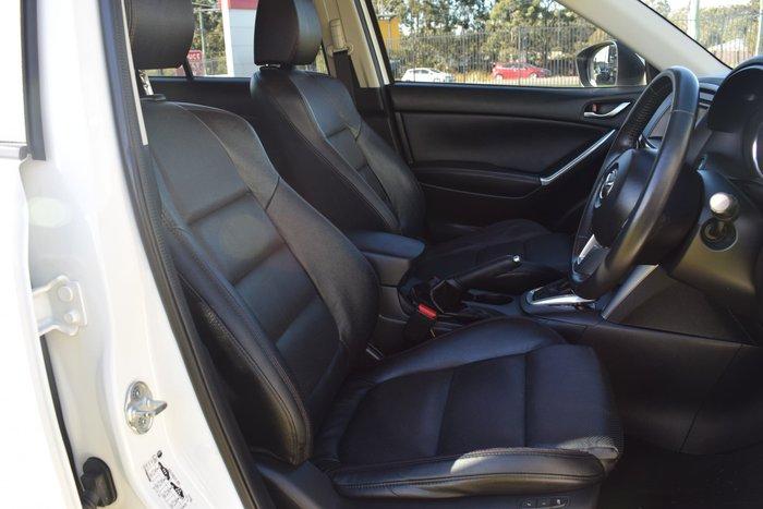 2013 Mazda CX-5 Grand Touring KE Series MY13 AWD Crystal White Pearl