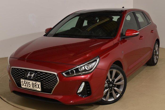 2017 Hyundai i30 SR Premium PD MY18 Fiery Red