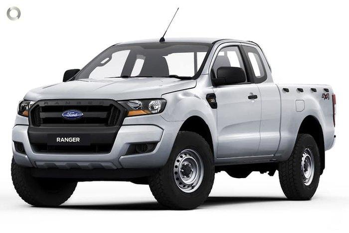 2021 Ford Ranger XL PX MkIII MY21.25 4X4 Dual Range Arctic White