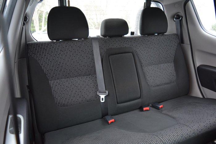 2013 Mitsubishi Triton GLX-R MN MY14 4X4 Dual Range Dark Blue