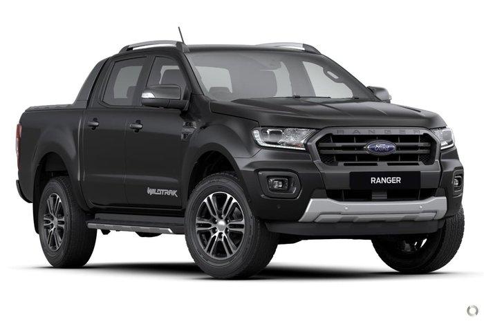 2021 Ford Ranger Wildtrak PX MkIII MY21.25 4X4 Dual Range Black