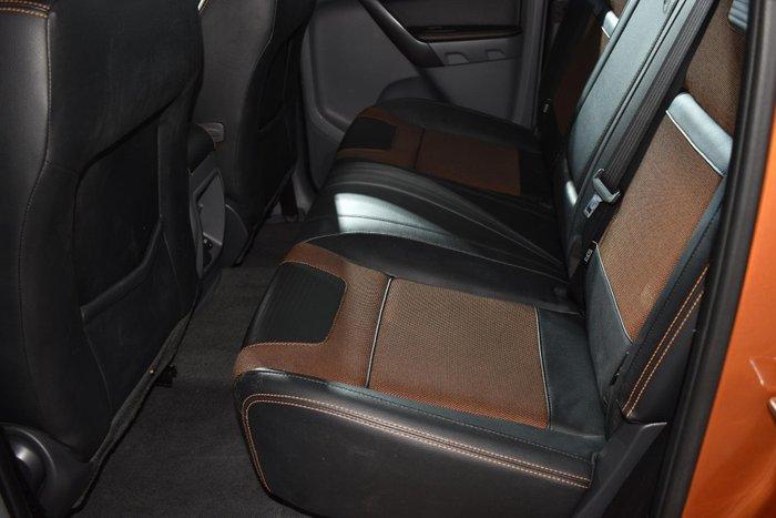 2016 Ford Ranger Wildtrak PX MkII 4X4 Dual Range Pride Orange