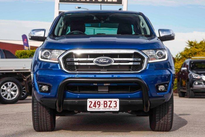 2019 Ford Ranger XLT PX MkIII MY19 4X4 Dual Range Lightning Blue