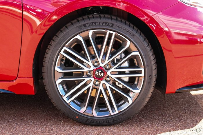 2021 Kia Cerato GT BD MY21 Red