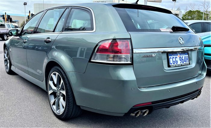 2014 Holden Commodore SS V VF MY15 Prussian Steel