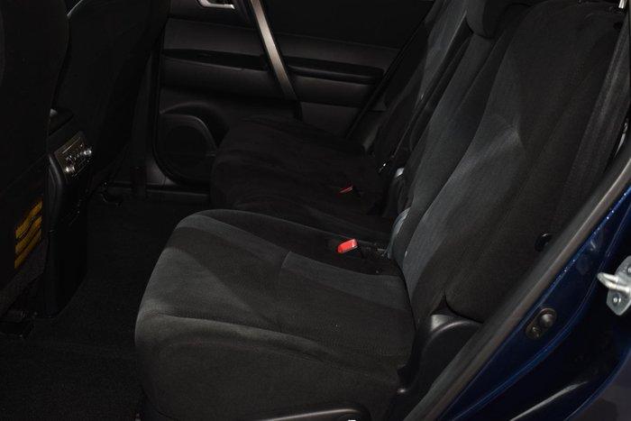 2013 Toyota Kluger KX-R GSU40R Blue