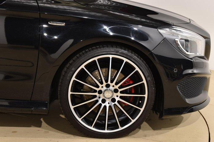 2015 Mercedes-Benz CLA-Class CLA250 Sport X117 Four Wheel Drive Night Black