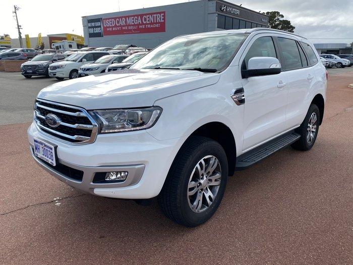 2020 Ford Everest Trend UA II MY20.75 4X4 Dual Range Arctic White