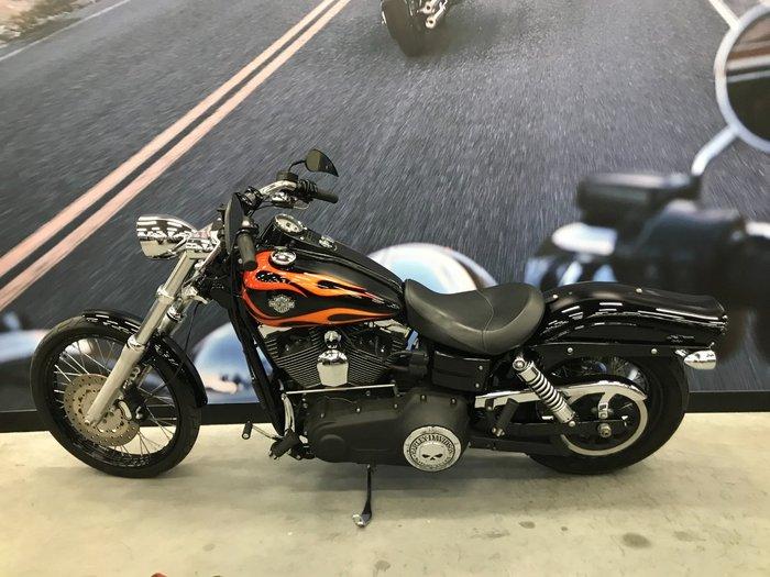 2010 Harley-davidson FXDWG WIDE GLIDE Black