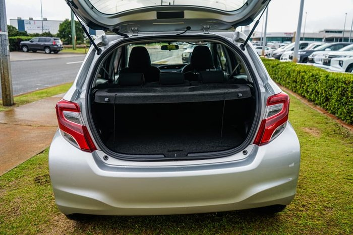 2016 Toyota Yaris Ascent NCP130R Silver Pearl