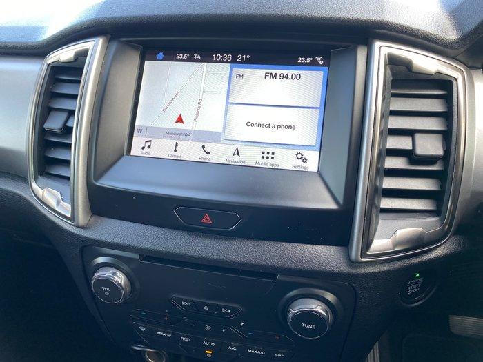 2019 Ford Ranger XLT PX MkIII MY19 4X4 Dual Range Frozen White