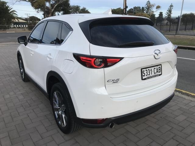 2018 Mazda CX-5 Mazda CX-5 H 6AUTO AKERA DIESEL AWD Snowflake White Pearl