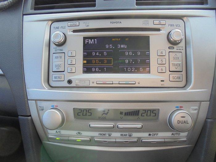 2011 Toyota Aurion Touring GSV40R MY10 Diamond White