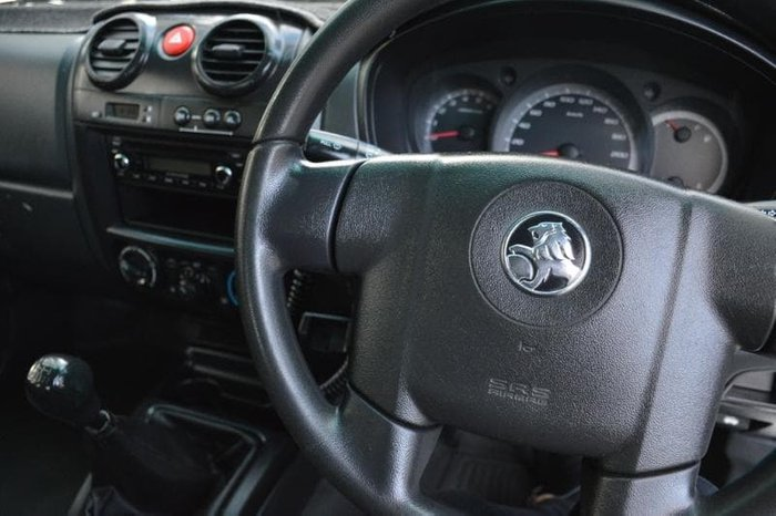 2011 Holden Colorado LX RC MY11 4X4 Alpine White