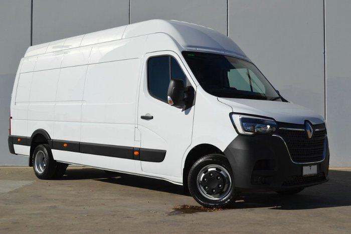 2021 Renault Master Pro 120kW X62 Phase 2 MY21 WHITE ELWB MANUAL