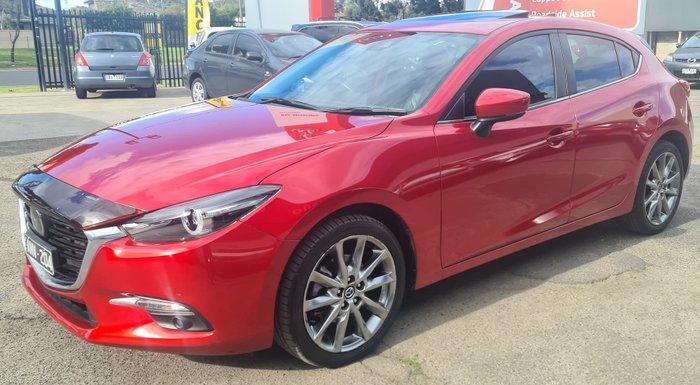 2017 Mazda 3 SP25 Astina BN Series Soul Red Crystal