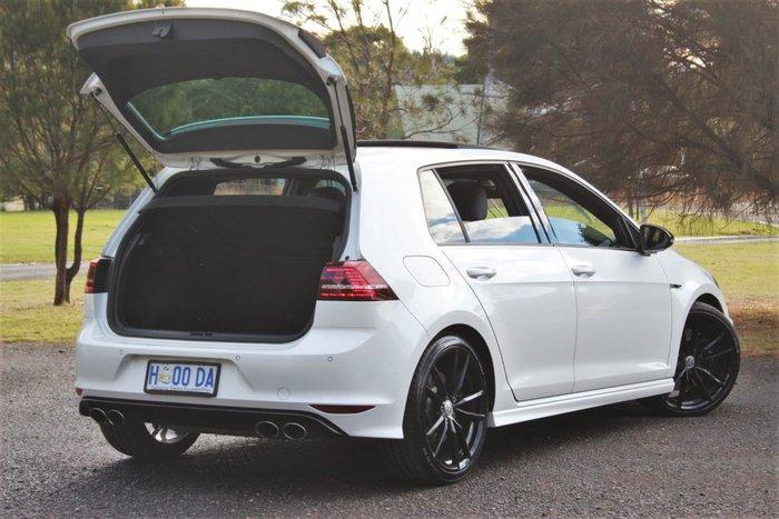 2015 Volkswagen Golf R Wolfsburg Edition 7 MY16 Four Wheel Drive Oryx White Pearl