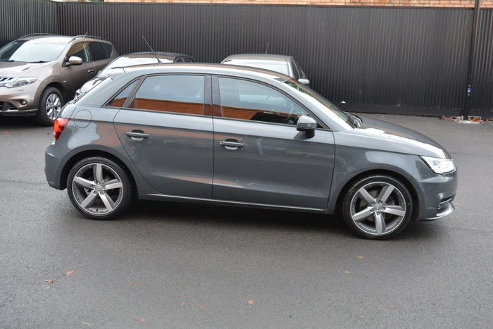 2017 Audi A1 Sport 8X MY18 Nano Grey
