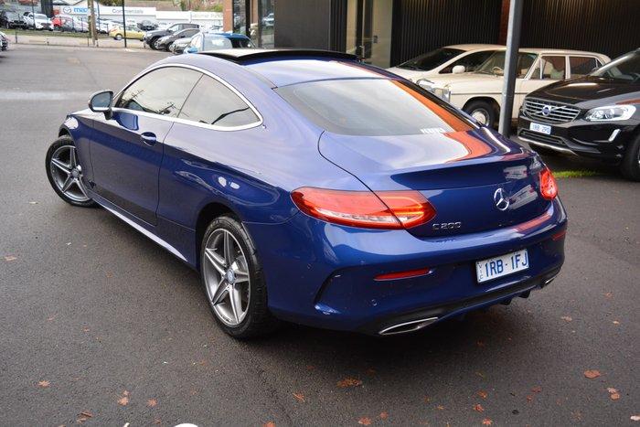 2016 Mercedes-Benz C-Class C200 C205 Cavansite Blue