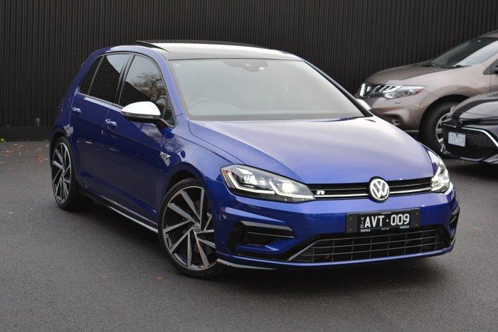 2018 Volkswagen Golf R 7.5 MY19 Four Wheel Drive Lapiz Blue