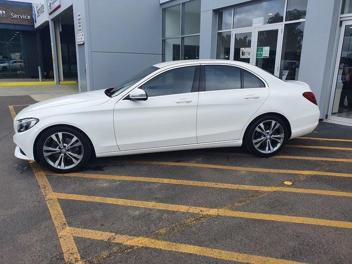 2016 Mercedes-Benz C-Class C200 W205 White