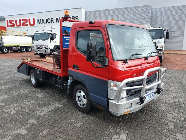 2012 Fuso Canter 515 Wide Beavertail