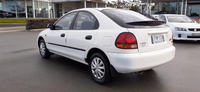 1997 Ford Laser Liata GLXi KL White Satin