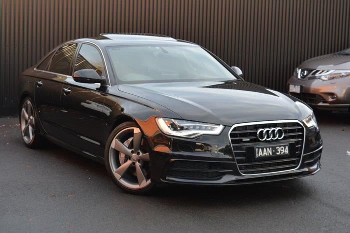 2013 Audi A6 Bi-Turbo C7 MY13 Four Wheel Drive Havanna Black