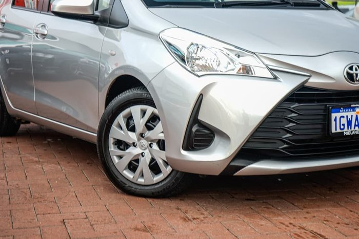 2019 Toyota Yaris Ascent NCP130R Silver Pearl