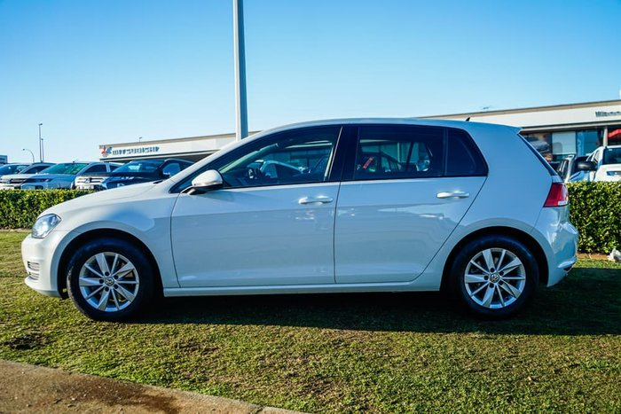 2017 Volkswagen Golf 92TSI Trendline 7 MY17 Pure White