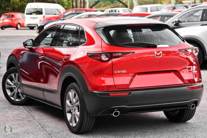 2021 Mazda CX-30 G20 Touring DM Series Soul Red Crystal