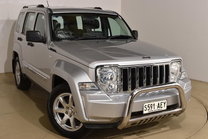 2009 Jeep Cherokee Limited KK MY09 Four Wheel Drive Bright Silver