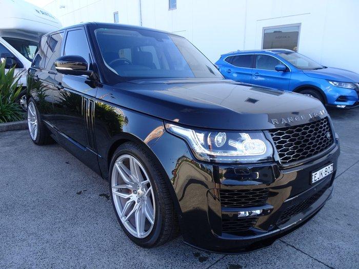 2013 Land Rover Range Rover SDV8 Autobiography L405 MY14 4X4 Constant Santorini Black