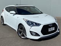 2013 Hyundai Veloster SR Turbo FS3 White