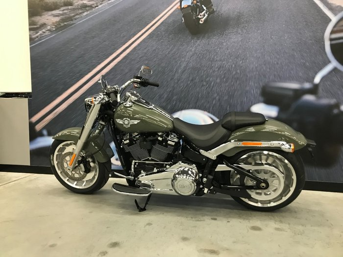 2021 Harley-davidson 2021 Harley-Davidson 1900CC FLFBS FAT BOY (114) CRUISER Green