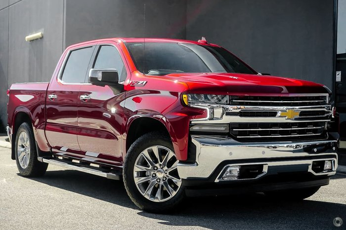 2021 Chevrolet Silverado 1500 LTZ Premium W/Tech Pack T1 MY21 4X4 Red