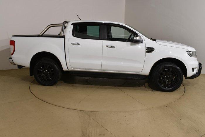 2018 Ford Ranger XLT PX MkIII MY19 4X4 Dual Range Frozen White