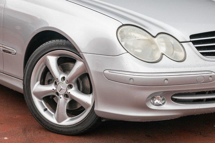 2004 Mercedes-Benz CLK-Class CLK320 Avantgarde C209 Zircon Silver