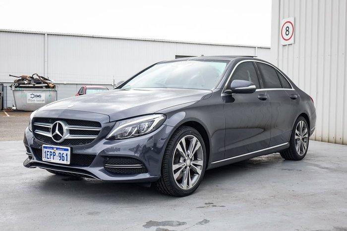 2014 Mercedes-Benz C-Class C200 W205 Grey