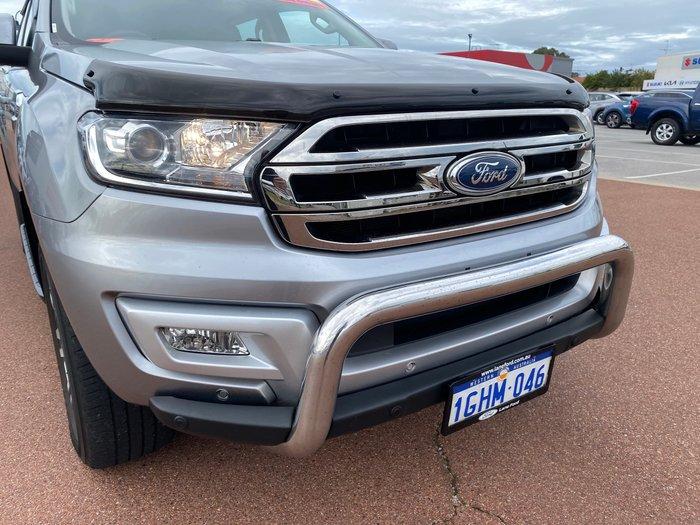 2017 Ford Everest Trend UA 4X4 Dual Range Aluminium