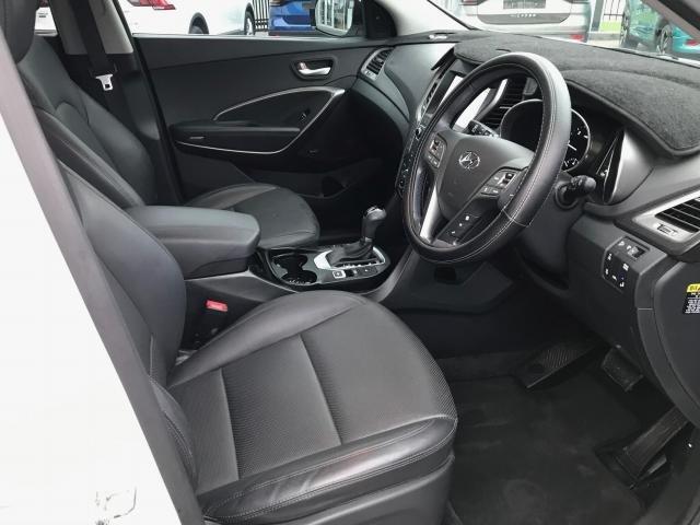 2017 Hyundai SANTA FE 2018 Hyundai DM5 SANTA FE 7S ELITE 2.2D AUTO (DMW72FC5GGGC81) PURE WHITE