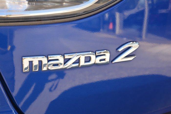 2010 Mazda 2 Maxx DE Series 1 MY10 Aurora Blue